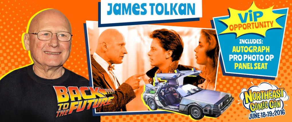 James Tolkan of Back To The Future NECC