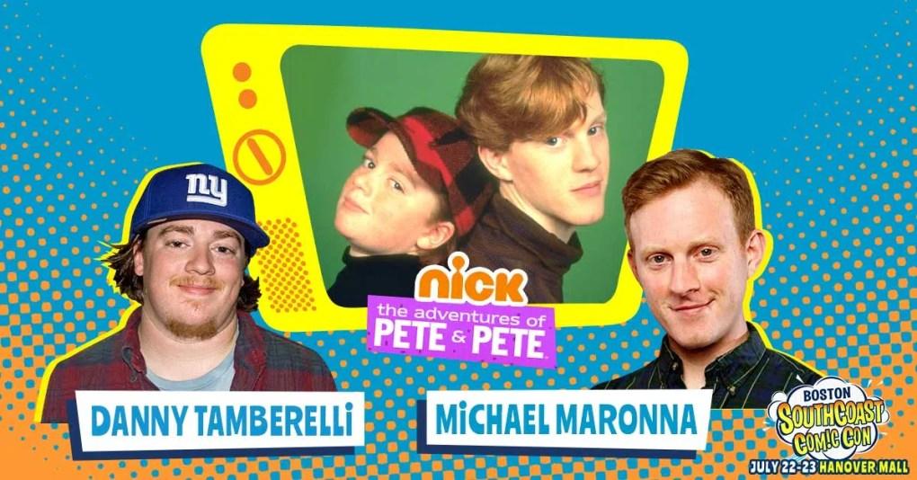 Nickelodeon's PETE & PETE at Boston SouthCoast Comic Con