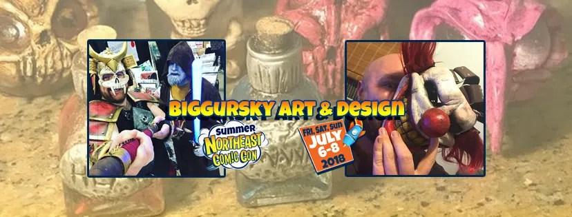 Biggursky Art & Design Brings Their Magic to NEComicCon