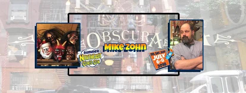 Mike Zohn Brings his Oddities to NorthEast Comic Con