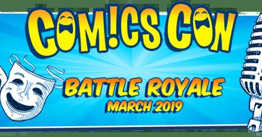 ComicsCon Battle Royale