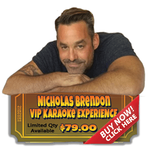 Nicholas Brendon Karaoke Experience