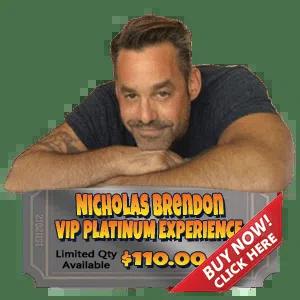 Nicholas Brendon Platinum Experience
