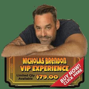 Nicholas Brendon VIP Experience