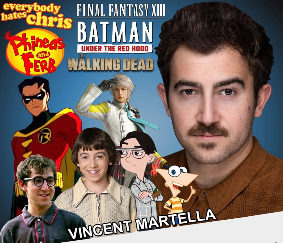 """Vincent Martella """"Phineas"""" Voice Actor at NEComicCon March 13-15"""