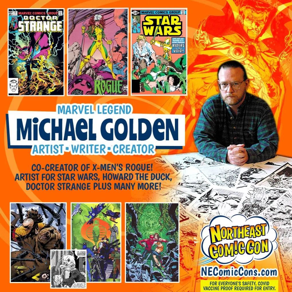 MICHAEL GOLDEN - Nov. 26-28, 2021 show