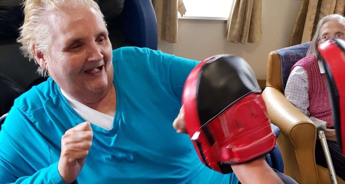 Care Home Martial Arts With Armchair Karate North East