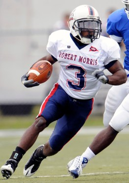 Myles Russ finished his Robert Morris career with 4,271 rush yards, a total that is still good enough for sixth in #NECFB history.