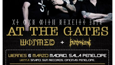 Photo of ROUTE RESURRECTION FEST 2015: WORMED y SOUND OF SILENCE serán los teloneros de AT THE GATES en su gira de marzo