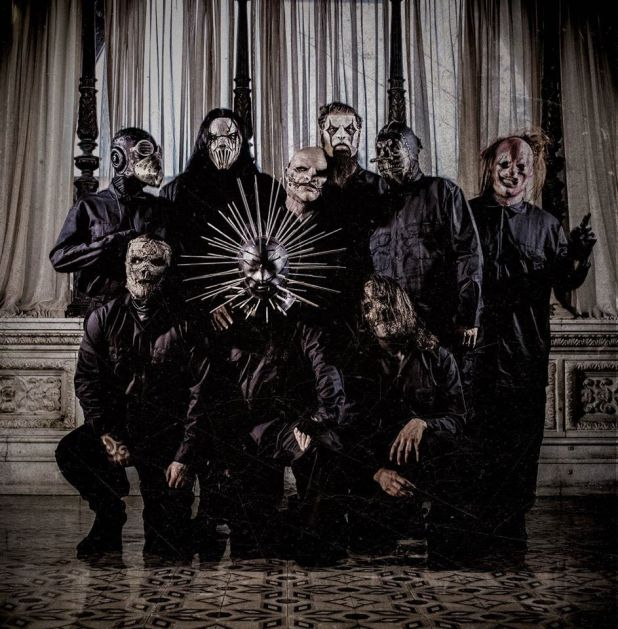 Slipknot-5-Gray-Chapter banda