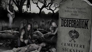 "Photo of DESECRATION (GBR) ""Cemetery sickness"" CD 2014 (Metal Age Productions)"