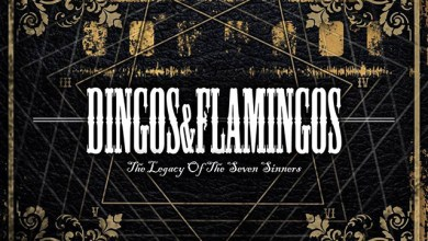 Photo of DINGOS & FLAMINGOS (ESP) «The legacy of the seven sinners» CD EP 2014 (Autoeditado)