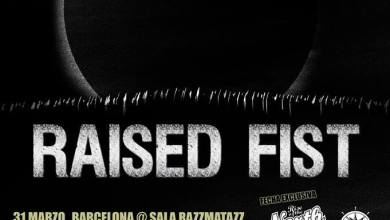 Photo of LIVE SHOTS – Raised Fist + Camino a la perdición + Tony Galento (01.04.2015 Madrid)