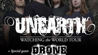 Photo of UNEARTH + DRONE – 26.05.2015 Barcelona (Kivents)