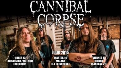 Photo of [NOTICIAS] CANNIBAL CORPSE, muy pronto de gira por España (FRONTLINE)