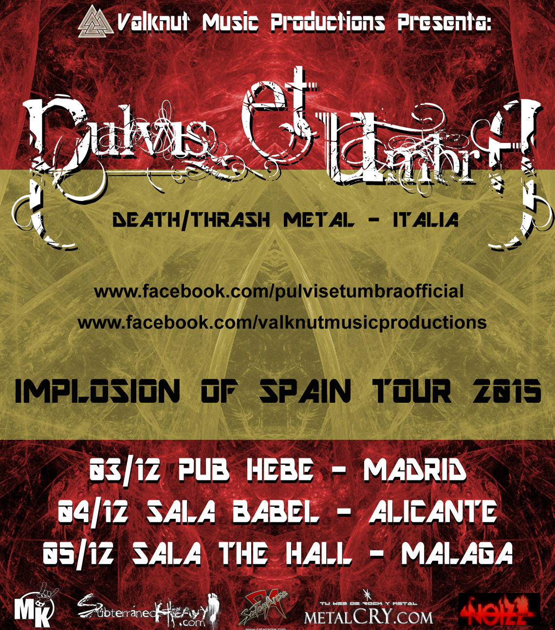 CARTEL TOUR pulvis