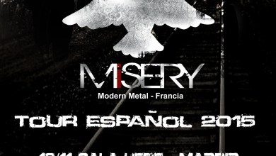 Photo of [GIRAS Y CONCIERTOS] MISERY tour español 2015 (Valknut Music Productions)