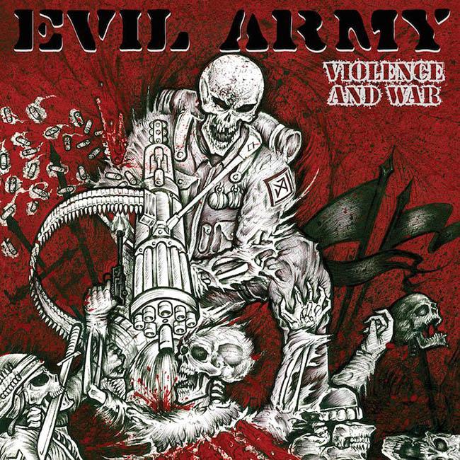 evil army - violence - web