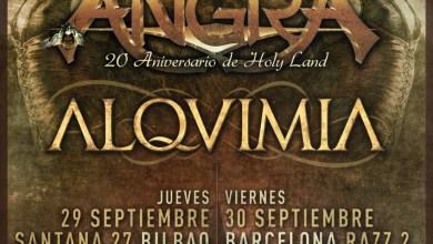 """Photo of [GIRAS Y CONCIERTOS] ANGRA en España con su gira """"20 Aniversario de HOLY LAND"""" acompañados por ALQUIMIA (Madness Live!)"""