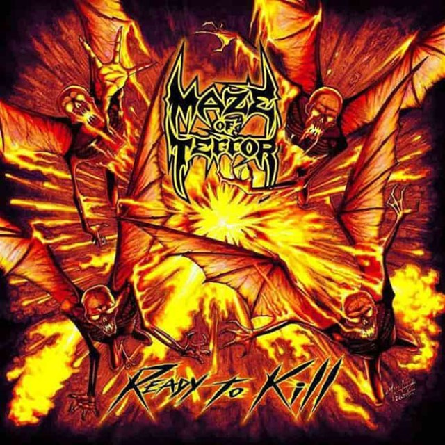 maze of terror - cd - web