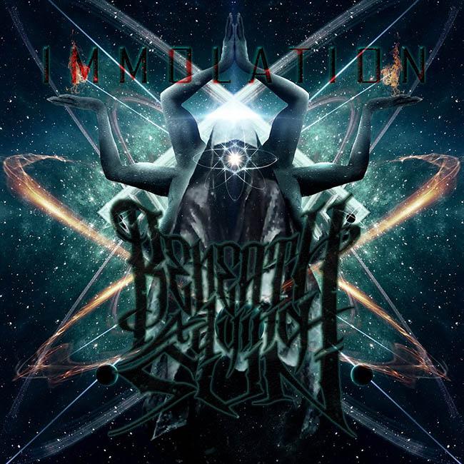 beneath a dying sun - immolation - web