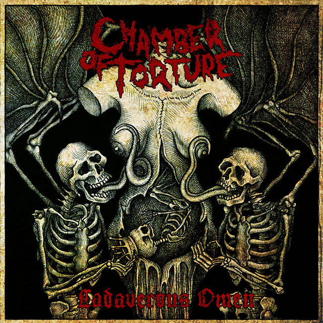 chamber of torture - cadaverous - web