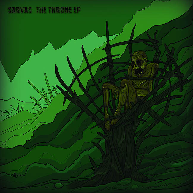 sarvas - the throne - web