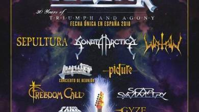 Photo of Primeras confirmaciones del LEYENDAS DEL ROCK para el 2018