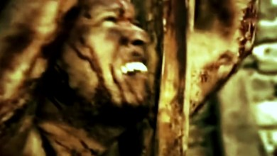 """Photo of ABORTED FETUS (RUS) """"Nailed to the cross"""" (Video Clip)"""