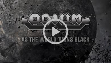 Photo of Ya puedes ver el lyric video del tema «As The World Turns Black» de los ODIUM