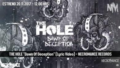 """Photo of Estrenamos el nuevo lyric video del tema """"Dawn of Deception"""" de los canarios THE HOLE"""
