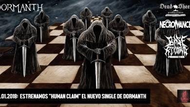"""Photo of Estrenamos """"Human Claim"""", el primer single de lo nuevo de DORMANTH"""