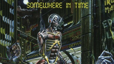 Photo of IRON MAIDEN (GBR) «Somewhere in time» (EMI, 1986)