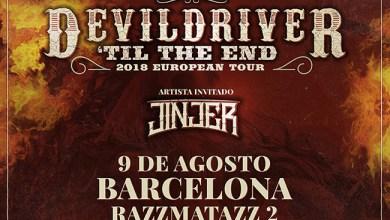Photo of DEVILDRIVER junto a JINJER en Barcelona el próximo mes de agosto