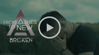 Photo of FROM ASHES TO NEW (USA) «Broken» (Video clip)