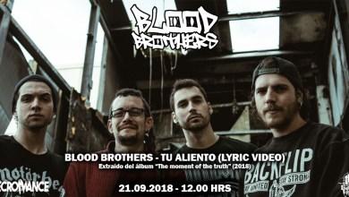 Photo of BLOOD BROTHERS (ESP) «Tu aliento» (Lyric Video)