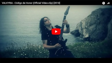 Photo of VALKYRIA (ESP) «Código de honor» (Video clip)