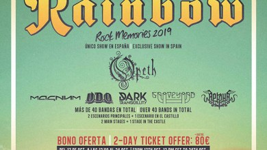 "Photo of Nace ""ROCK THE COAST FESTIVAL"" con RAINBOW, 14 Y 15 de Junio en Fuengirola"