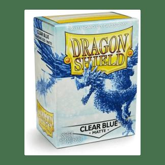 clear blue matte