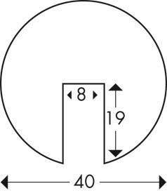 élvédő B műszaki rajz
