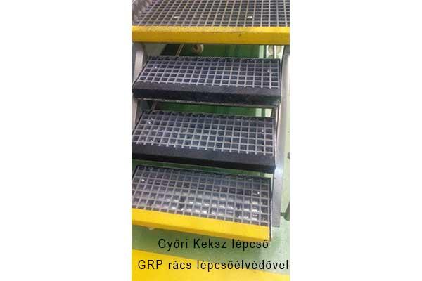 GPR járórács