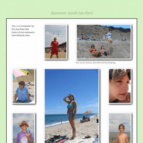 Tabblo: Summer 2006 (so far)