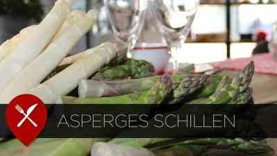 asperges schillen