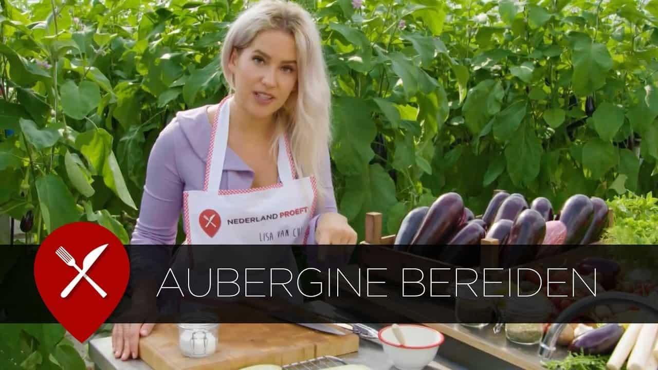 aubergine bereiden