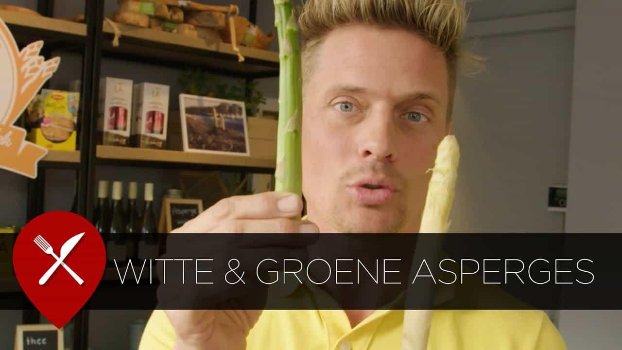 Verschillen groene en witte asperges