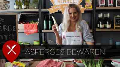 Asperges bewaren