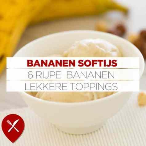 Zelf bananenijs maken