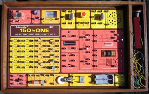 Radio Shack Electronics Kit circa 1975