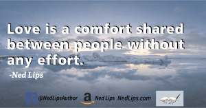 Read more about the article Love is a comfort…