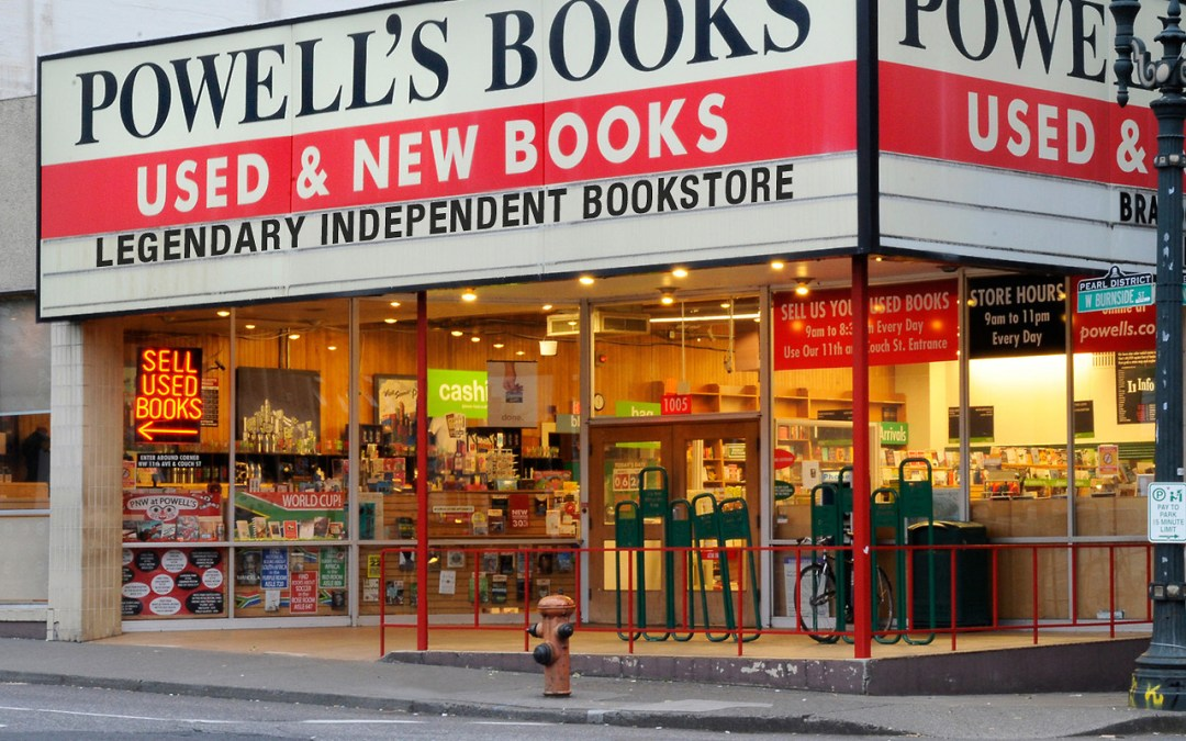 Bookstores: Powell's in Portland